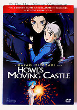 Ghibli Howl's Moving Castle on DVD Christian Bale Josh Hutcherson Billy Crystal