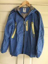 Adidas Obyo KZK Kazuki Lightweight Diaplex Shell 2L Jacket Blue Sz XL L EUC