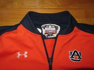 Under Armour Allstate SUGAR BOWL AUBURN TIGERS Zippered (XL) Warm-Up Sweatshirt