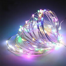 2M Multicolor Battery Powered 20 LEDs String Fairy Lights Copper Wire Waterproof