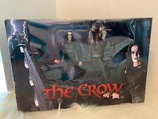 The Crow Eric Draven vs Top Dollar Figures Boxed Set MIB Sealed SKETCH SIGNED