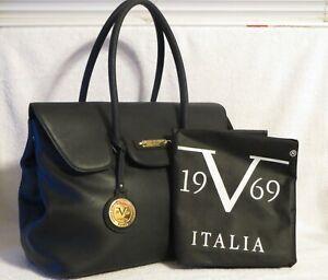 Large Black Versace 19.69 Abbigliamento Sportivo SRL Sport Tote Bag