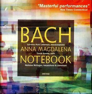 Anna Magdalena - Bach Notebook, Highlights  -  CD, VG