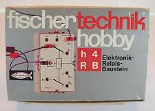 Fischertechnik 30812 h4RB Elektronik Relais Baustein OVP #742