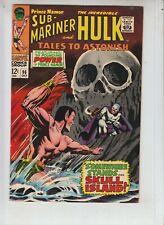 """Tales To Astonish 95 VF- (7.5) 10/67 Sub-Mariner/Hulk """"Skull Island!"""""""