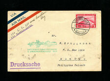 Zeppelin Sieger 133m 1931 3rd South America Flight Germany Post to Phillipines
