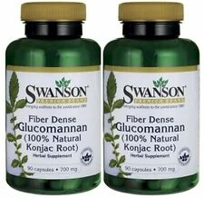100% Glucomannan Konjac Root 2-PACK (90x2) 100% SAME as LIPOZENE  FAT TRAPPER