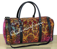 Mandala Travel Bag Indian Sports Gym Bag Duffle Handbag With Adjustable Strap