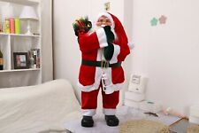 """32"""" Santa Claus Traditional Figure Large Father Christmas Floor Standing Home"""