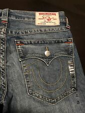 TRUE RELIGION BRAND JEANS MENS SLIM JEANS SZ 34