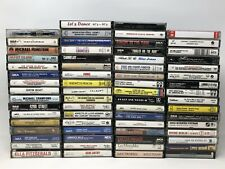 Lot of 66 Mixed Assorted Cassette Tape Music Audio Soundtracks Cast UNTESTED