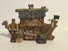 Boyds Bears S.S. Noah . The Ark Animals Resin Figurine Nos