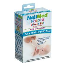 NeilMed Naspira Nasal-Oral Aspirator for Babies and Kids