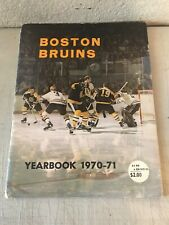 Boston Bruins 1970/71 Official Yearbook