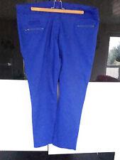 Pantalon bleu roi Kiabi neuf 52