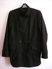 Size L Mens REISS smart winter wool mix coat