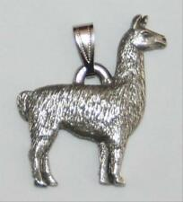 Llama Harris Fine Pewter Pendant USA Made