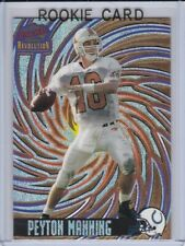 PEYTON MANNING ROOKIE CARD Pacific Revolution 1998 Tennessee Football BV$$ RC!