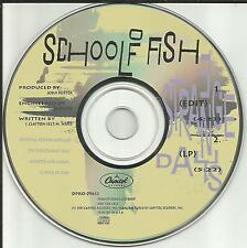 Josh Clayton Felt SCHOOL OF FISH Strange days RARE EDIT PROMO DJ CD single 1991