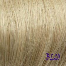 Aschblonde lange Perücken & Haarteile-Haarteile