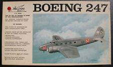 WILLIAMS BROS 72-247 - Boeing 247 - 1:72 - Flugzeug Modellbausatz Model Kit