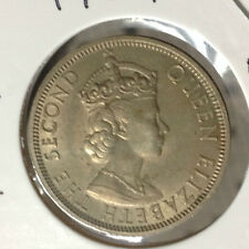 1961 QEll 50 cents nickel   -very good details ! A better coin OFFER!