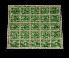 U.S. #730, 1933, FORT DEARBORN, IMPERF. PANE/25, MNH, NICE! LQQK!