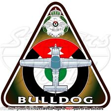 BAe BULLDOG (Beagle-Scottish Aviation) GIORDANIA Aeronautica Militare Adesivo