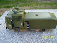 Modelik 06/06 Wasserwerfer Hydromil II        1:25  mit Lasercutteilen