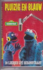 Pluizig En Blauw-16 Liedjes Uit Sesamstraat music Cassette