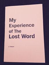 Finbarr Books - Self Help - The Lost Word - Cosmic Mantra New Age Spiritual