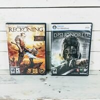 Kingdoms of Amalur: Reckoning & Dishonored DVD-ROM Software PC Video Games