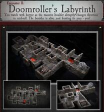 Dwarven Forge DOOMROLLER'S LABYRINTH Dungeons of Doom 2018 w/Painted-Magnets D&D