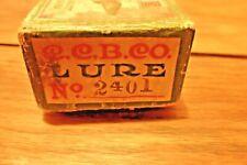 New listing vgt creek chub no 2401 jointed pikie flap tail fish lure w box
