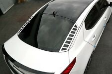Rear Glass Acrylic Plate Mask Matte White For KIA Optima K5
