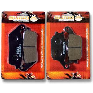 F+R Brake Pads for Honda CBR 250 R(Non ABS)(2011-2014) CBR 300 R/RA (2015-2020)