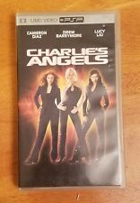 Charlie's Angels Movie Sony PSP UMD Case Used Cameron Diaz Drew Lucy Lui Video