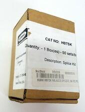 Box of 50 Hubbell HBTSK Splice Kit For Proper Grounding At All Splices ~ NEW