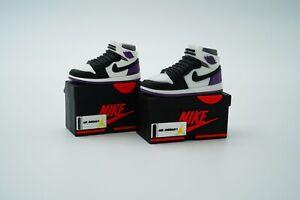 Purple Shoe Box AirPod 1/2 Case AirPods Pro Case Sneaker Silicone Shoe Case