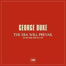 GEORGE DUKE - THE ERA WILL PREVAIL 7 VINYL LP NEU