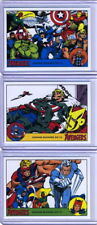 2015 Marvel Silver Age complete Promo set 3 cards P1 P2 P3