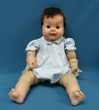 """1961 Vintage 23"""" Vogue Baby Bobby Dear One Doll, Eloise Wilkin, HTF Dark Brown H"""