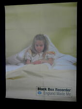black box recorder england made me original in store promo poster!!!