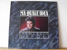 """★★ 12"""" MAXI-Francesco Napoli-ma quale idea (Strange idea Mix 5:31 min)"""
