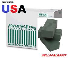 8/pk Oasis Instant Bricks Floral Foam Florist Supplies - Wet Foam Advantage