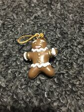 Avon Vintage Advent Calendar Christmas Tree Replacement Part Gingerbread Man