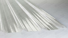 BOX PROFILE GRP FIBREGLASS CLEAR ROOF LIGHTS better than plastic roofing sheets!