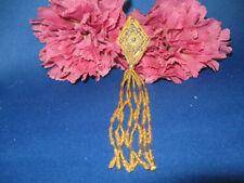 LEAF FLOWER SEQUIN BEADED EPAULET 0375-T3