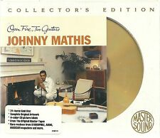 Mathis, Johnny Open Fire, Two Guitars Mastersound Gold CD SBM Neu OVP Sealed