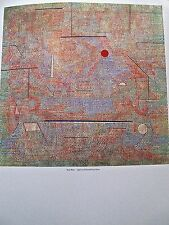 Paul Klee  Light and Something More  Poster Reprint  14x11 Offset Lithograph